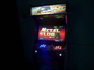 une des nombreuses bornes d'Arcade disponible à elation Park