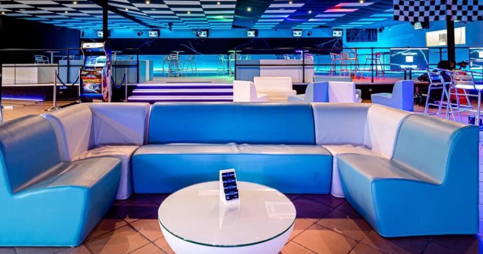 Espace salon pour les événements professionnels chez Elyzion Park