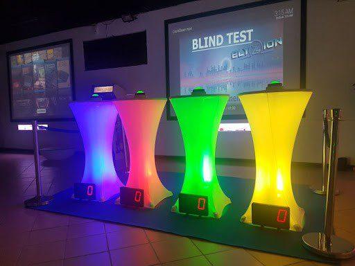 Blind test organisé chez Elyzion Park pour un anniversaire