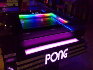 Table Pong jeu automatique à Elyzion Park